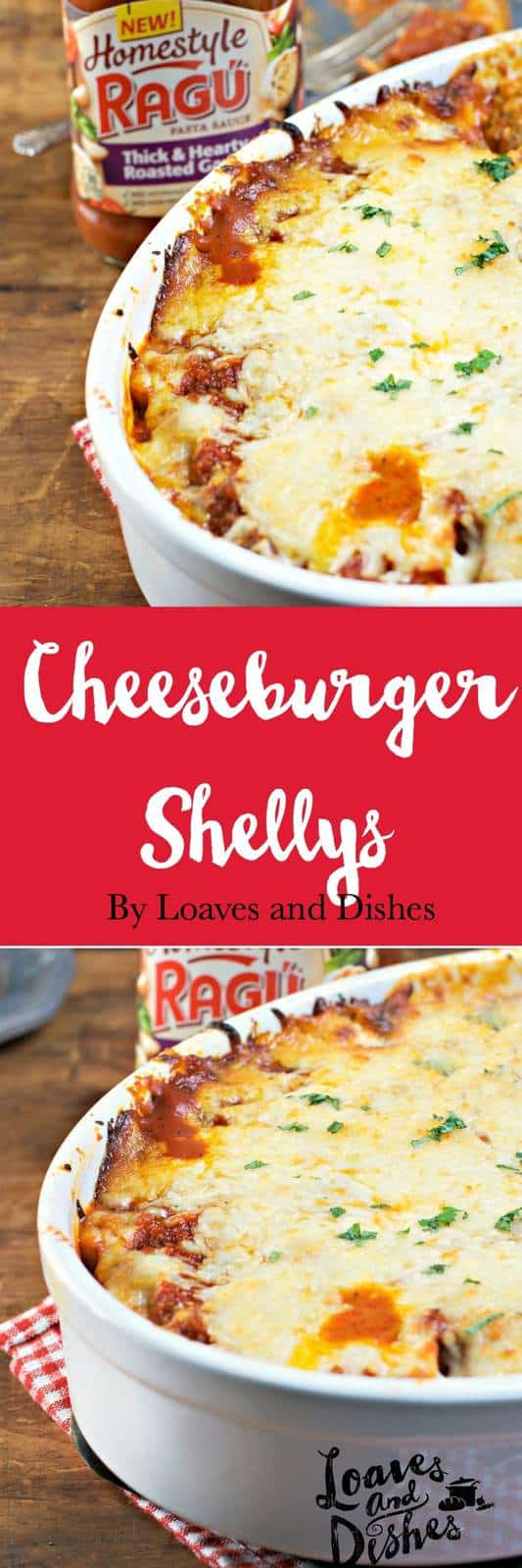 Cheeseburger Shellys are EASY, SUPER TASTY and READY for the oven in 30 mins. All you will hear is the fork scraping across the plate - because everyone will be chowing down. Stuffed Shells, Cheese Stuffed Shells, Baked Pasta and Cheese. EASY!