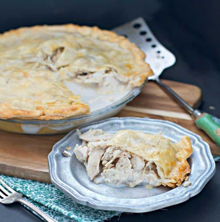 Easy Chicken Pie @www.loavesanddishes.net