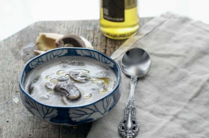 Homemade Creamy Mushroom Soup from Scratch