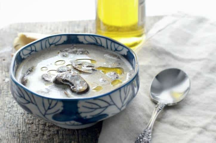Homemade Creamy Mushroom Soup from Scratch