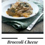 Broccoli Cheese Casserole for Two in a Crockpot