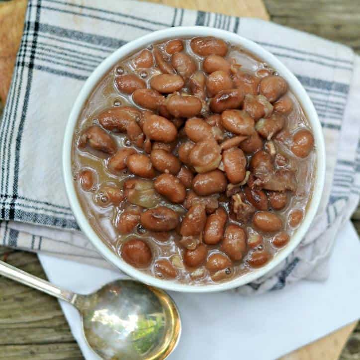 HOW TO COOK CANNED PINTO BEANS