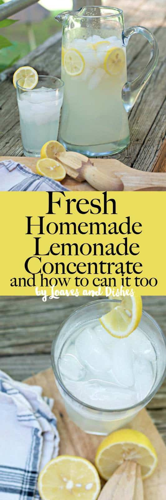 Simple recipe for fresh squeezed lemonade concentrate that you can make at home. Its easy and healthy. Then make by the gallon from the concentrate! Perfect summer drink.