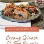 Creamy Spinach Stuffed Pimento Cheese Chicken