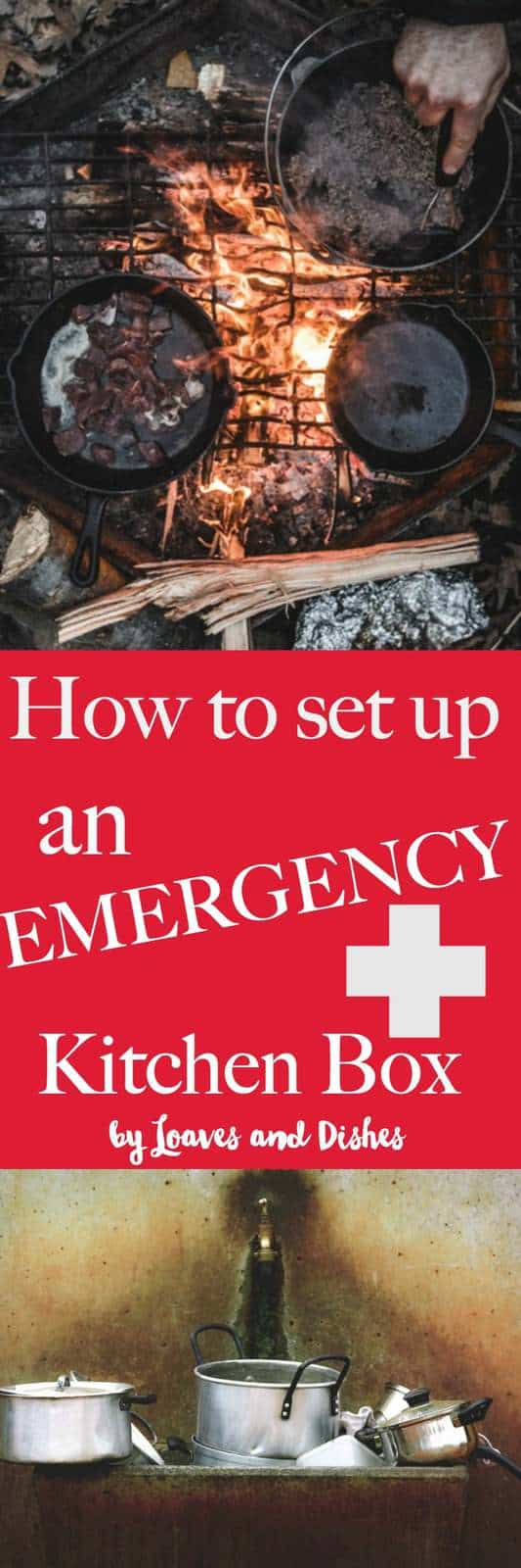 Emergency food cooking and cases are important in the event of a disaster, storm outage of electrical outage. You'll be miles ahead if you are ready with this emergency preparedness guide for your kitchen and free printable.