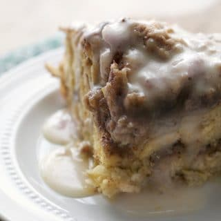 Orange Cinnamon Roll Coffee Cake