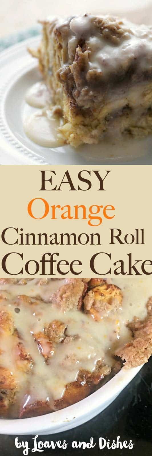 This EASY ORANGE CINNAMON ROLL COFFEE CAKE is simple using ingredients you already have in your kitchen like cinnamon, sugar, and pecans. Like the Pioneer Woman makes. Short total time. Easy ingredients