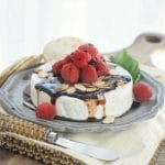 Toasted Almond Raspberry Baked Brie