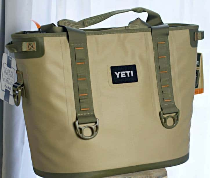 A photo of the yeti cooler I'm giving away
