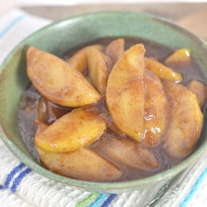 THE SECRET TO PERFECT SOUTHERN FRIED APPLES