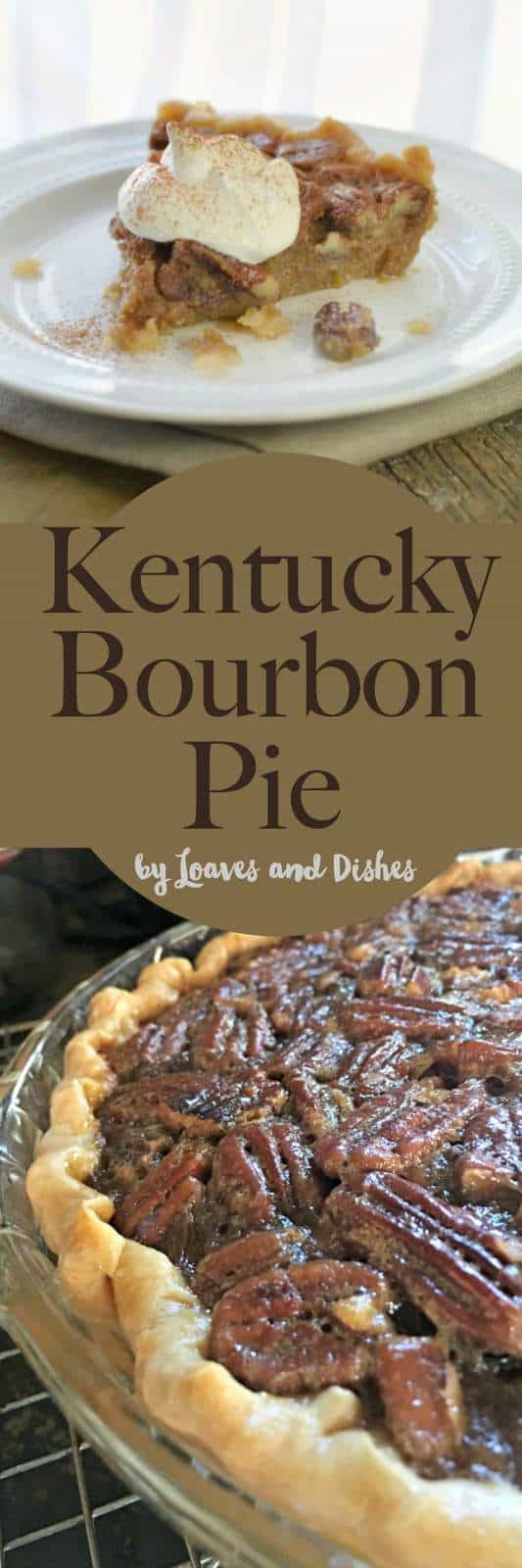 This recipe for Kentucky Bourbon Pie is straight out of the deep south mixing Pecans, Whiskey (Bourbon) and whipped cream into a boozy delight.  Just like Pioneer Woman or Paula Deen would make only boozy!  Let your southerner sing with this delicious pie.