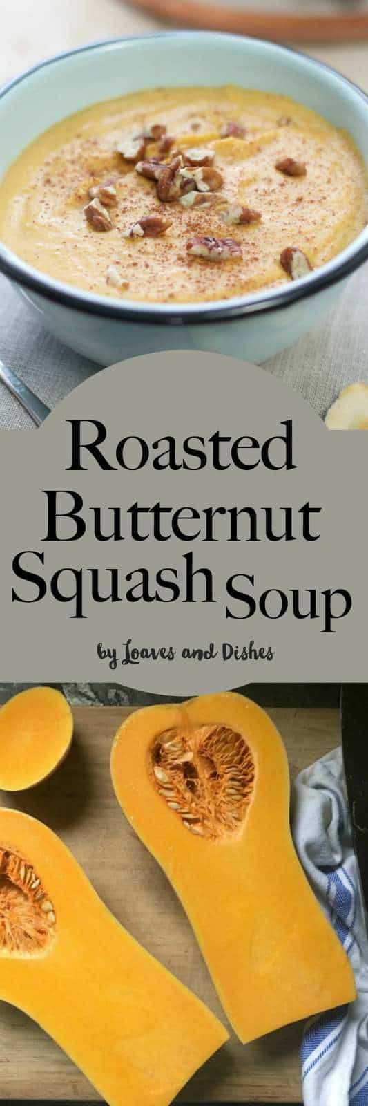 Easy Healthy Roasted Butternut Squash Soup.  Creamy and made with curry.  Complete photo instructions for how to make this soup. It's the BEST!  Like the Pioneer Woman's recipes.