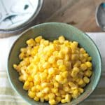 HOW TO COOK CANNED CORN ON THE STOVE