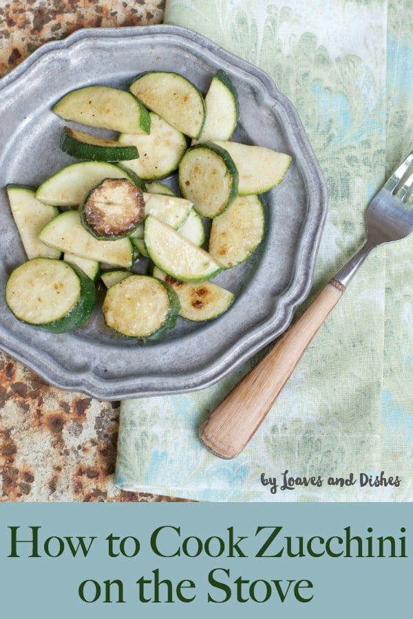 Use this simple healthy recipe with olive oil for a simple way to cook zucchini at home on the stove top.  How to cook zucchini on the stove #howtocookzucchini, #freshzucchini, #recipes