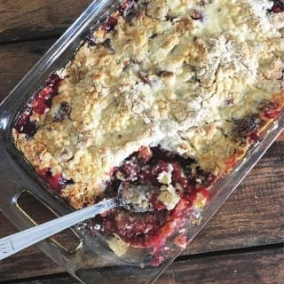 Easy Cherry Cobbler Recipe – Homemade Cherry Cobbler