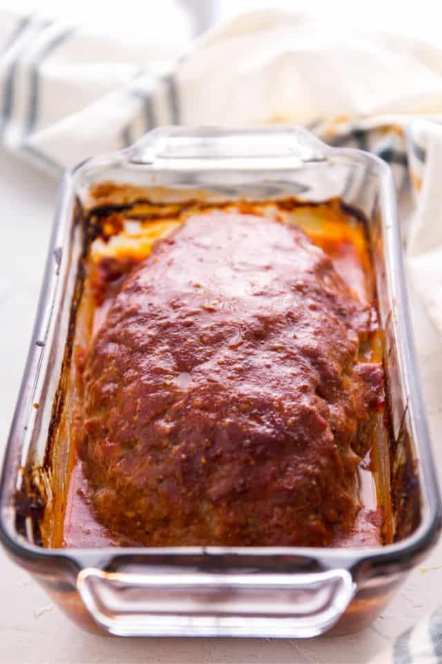 The baked taste easy meatloaf