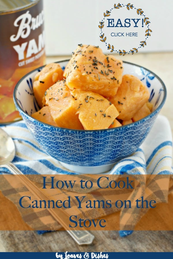 This recipe for how to cook canned yams on the stove actually contains instructions for candied yams, microwave recipe, stove top, casserole, and healthy baked yams for thanksgiving and other holidays.  Just like Paula Deen or Pioneer woman would do.  #candiedyams #sweetpotatorecipes #yamrecipes #howtocookcannedyams #whattodowithcannedyams