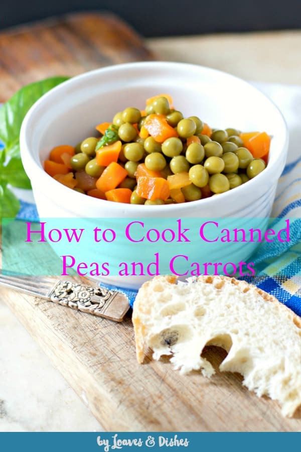 A fun easy simple side dish with a lot of color that is ready in minutes.  How to cook canned peas and carrots is healthy too! Stovetop and microwave instructions included for this comfort food. #peasandcarrots #peasandcarrotsrecipes #peasandcarrotsrecipe #howtocookpeasandcarrots #cannedpeasandcarrots