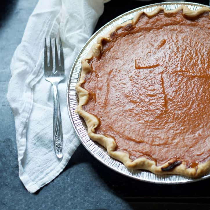 How to make a pumpkin into pie filling