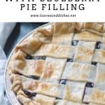 How to Make Blueberry Pie with Blueberry Pie Filling