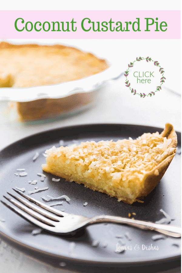 This recipe for coconut custard pie is healthy and reasonable and EASY!  An old fashioned recipe like your grandma made or Pioneer Woman or Paula Deen even!  #Coconutpie #coconutcustardpie #bestpie #recipes