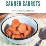 How to Cook Canned Carrots
