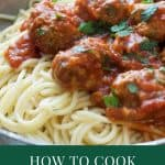 How to Cook Frozen Meatballs