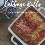 Easy Classic Cabbage Rolls