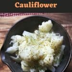 How to Boil Cauliflower