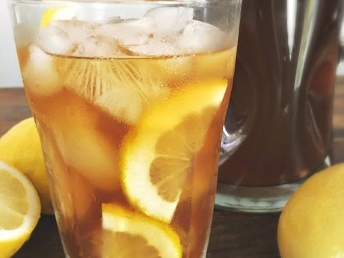 Southern Lemon Iced Tea