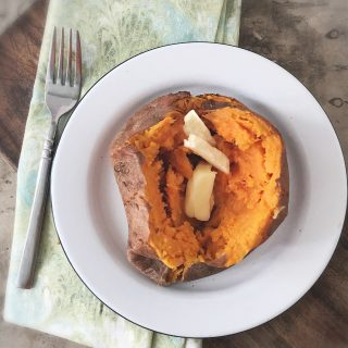 How to Microwave a Sweet Potato