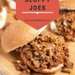 Super Easy Homemade Sloppy Joes