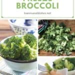 How-To Freeze Broccoli Pin