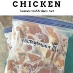 How to Freeze Chicken
