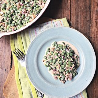 Green Pea Salad With Bacon