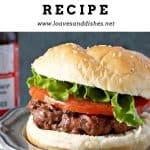 Hangry Hamburger Recipe