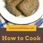 How to Cook Livermush