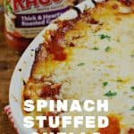 Spinach Stuffed Shells