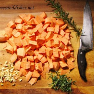 Savory Roasted Sweet Potatoes