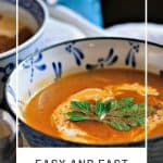 Easy and Fast Fall Soups