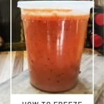 How to Freeze Soup