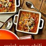 Quick Easy Chili