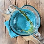 Rosemary Water Pitcher