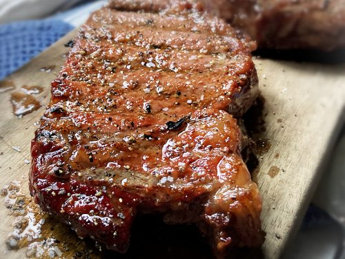 Smoked Ribeye Steak