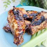smoked jerk chicken wings