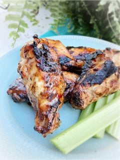 smoked jerk chicken wings