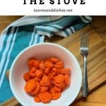 How to Steam Carrots on the Stove