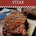Smoked Ribeye Steak