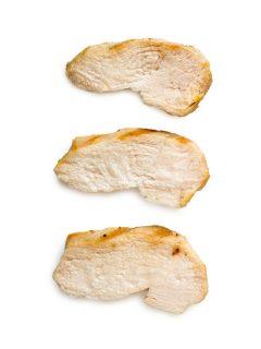 slices of chicken