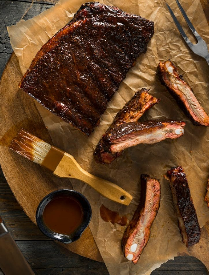 Pressure Cooker Baby Back Ribs on paper
